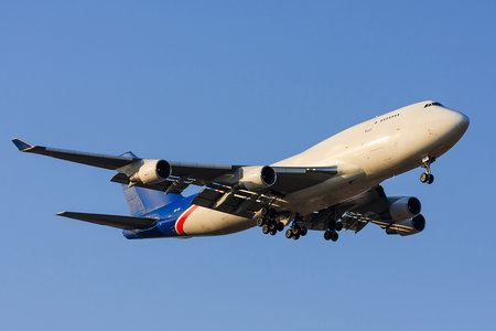 Boeing 747-400BDSF - ER-JAI operated by Aerotrans Cargo