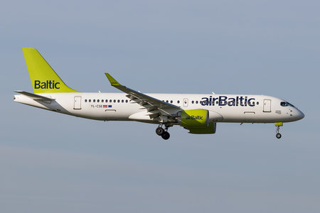Bombardier BD-500-1A11 C Series CS300 - YL-CSE operated by Air Baltic