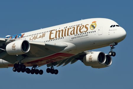 Airbus A380-861 - A6-EUG operated by Emirates