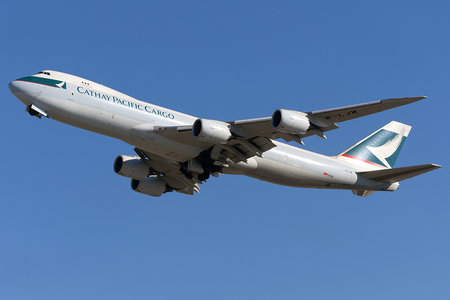 Boeing 747-8F - B-LJM operated by Cathay Pacific Cargo