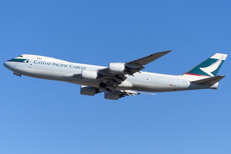 Boeing 747-8F - B-LJI operated by Cathay Pacific Cargo