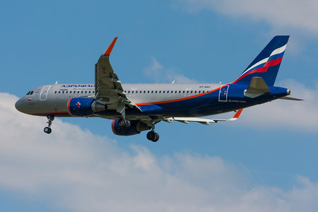 Airbus A320-214 - VP-BAC operated by Aeroflot