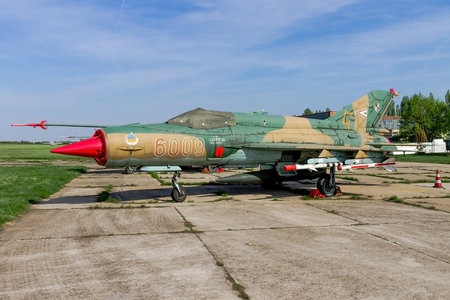Mikoyan-Gurevich MiG-21bis - 6009 operated by Magyar Légierő (Hungarian Air Force)