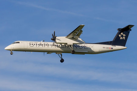 Bombardier DHC-8-Q402 Dash 8 - OE-LGO operated by Australian Airlines