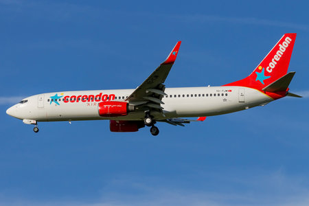 Boeing 737-800 - TC-TJM operated by Corendon Airlines