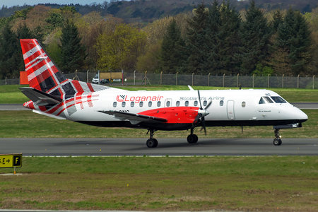 Saab 340B - G-LGNG operated by Loganair