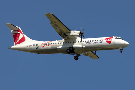 ATR 72-212A - OK-GFS operated by CSA Czech Airlines