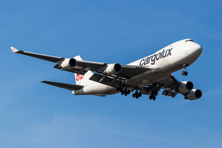 Boeing 747-400F - LX-JCV operated by Cargolux Airlines International