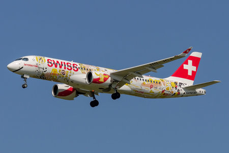 Bombardier BD-500-1A11 C Series CS300 - HB-JCA operated by Swiss International Air Lines