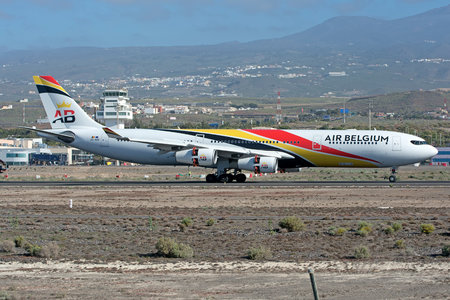 Airbus A340-313 - OO-ABB operated by Air Belgium