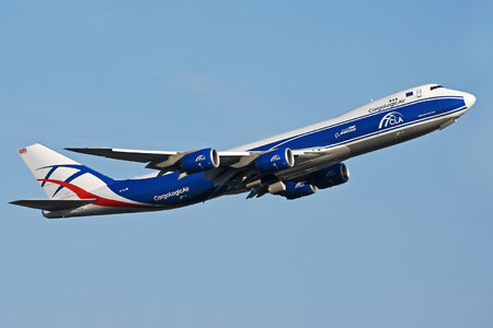 Boeing 747-8F - G-CLAB operated by CargoLogicAir