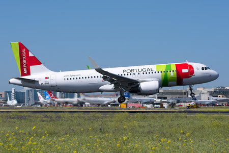 Airbus A320-214 - CS-TNS operated by TAP Portugal