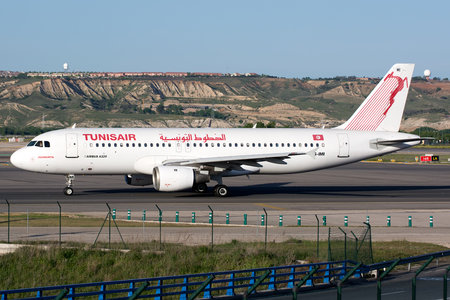 Airbus A320-211 - TS-IMI operated by Tunisair
