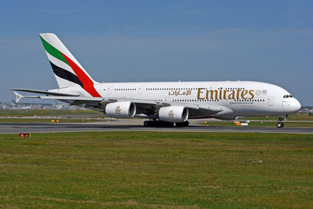 Airbus A380-861 - A6-EEZ operated by Emirates