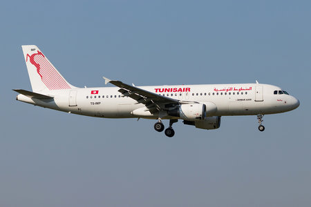 Airbus A320-214 - TS-IMP operated by Tunisair