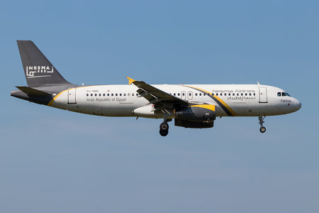 Airbus A320-232 - SU-NMB operated by Nesma Airlines