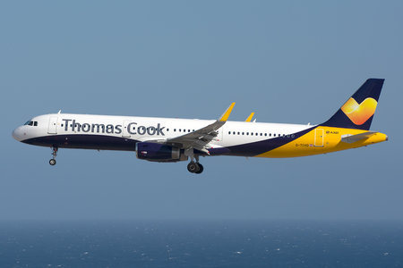 Airbus A321-231 - G-TCVD operated by Thomas Cook Airlines