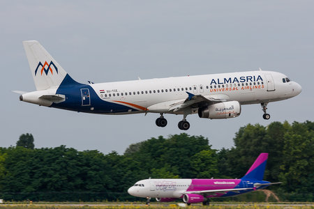 Airbus A320-232 - SU-TCE operated by AlMasria Universal Airlines