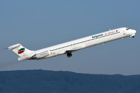 McDonnell Douglas MD-82 - LZ-LDW operated by Bulgarian Air Charter