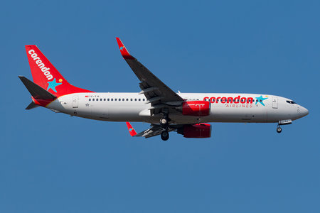 Boeing 737-800 - TC-TJI operated by Corendon Airlines