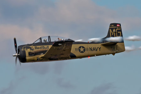 North American T-28B Trojan - OE-ESA operated by The Flying Bulls