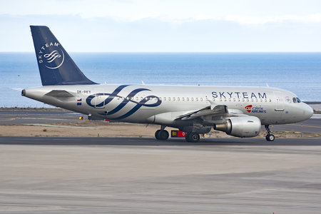 Airbus A319-112 - OK-PET operated by CSA Czech Airlines