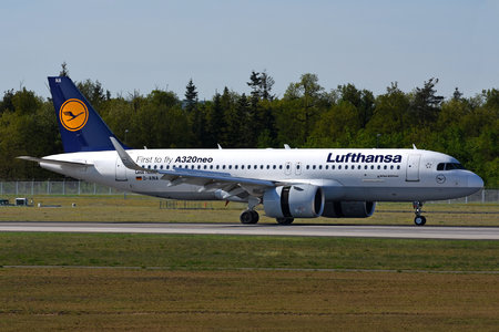 Airbus A320-271N - D-AINA operated by Lufthansa