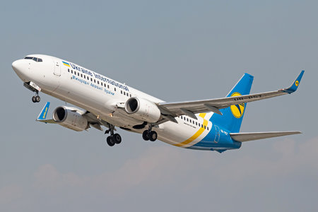 Boeing 737-800 - UR-PST operated by Ukraine International Airlines