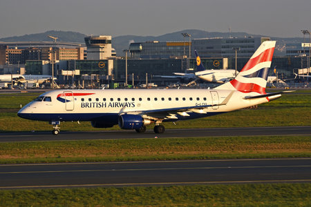 Embraer 170-100STD - G-LCYI operated by BA CityFlyer