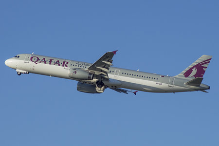 Airbus A321-231 - A7-AID operated by Qatar Airways