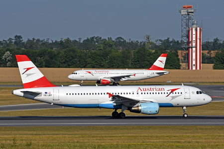 Airbus A320-214 - OE-LBT operated by Austrian Airlines