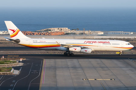 Airbus A340-313 - PZ-TCR operated by Surinam Airways