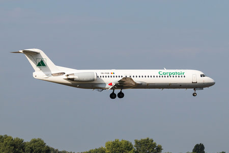 Fokker 100 - YR-FKB operated by Carpatair