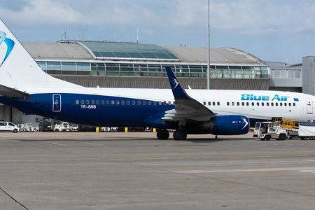 Boeing 737-800 - YR-BMB operated by Blue Air