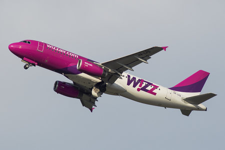 Airbus A320-232 - HA-LPQ operated by Wizz Air