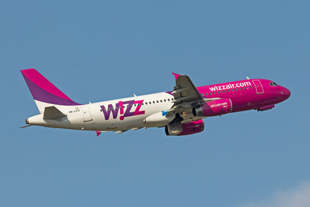 Airbus A320-232 - HA-LPZ operated by Wizz Air