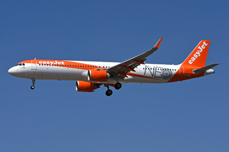 Airbus A321-251NX - G-UZMA operated by easyJet