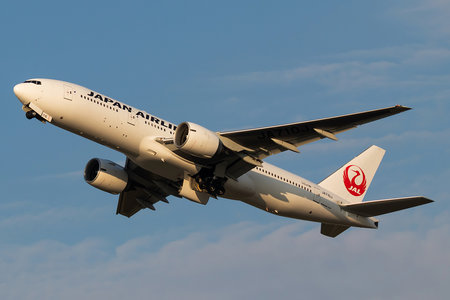 Boeing 777-200ER - JA710J operated by Japan Airlines (JAL)