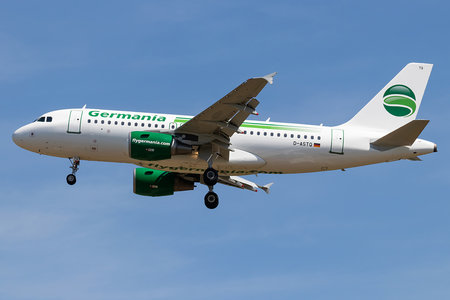 Airbus A319-111 - D-ASTQ operated by Germania
