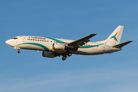 Boeing 737-400 - TC-TLC operated by Tailwind Airlines