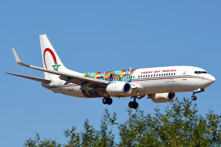 Boeing 737-800 - CN-RGH operated by Royal Air Maroc (RAM)
