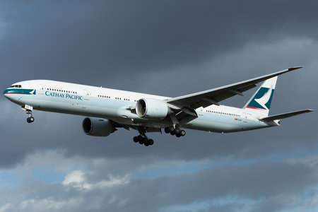 Boeing 777-300ER - B-KQO operated by Cathay Pacific Airways