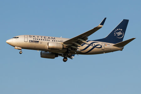 Boeing 737-700 - YR-BGF operated by Tarom