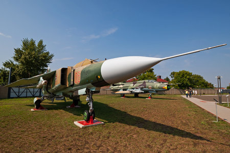 Mikoyan-Gurevich MiG-23MF - 06 operated by Magyar Légierő (Hungarian Air Force)