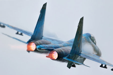 Sukhoi Su-27UB - 71 operated by Povitryani Syly Ukrayiny (Ukrainian Air Force)