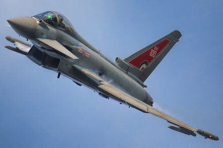 Eurofighter Typhoon FGR.4 - ZK318 operated by Royal Air Force (RAF)