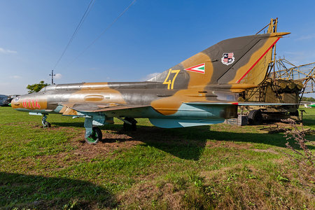 Mikoyan-Gurevich MiG-21MF - 8114 operated by Magyar Légierő (Hungarian Air Force)