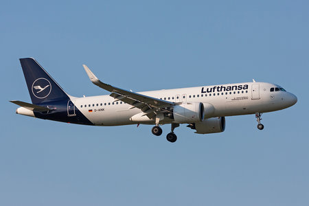 Airbus A320-271N - D-AINK operated by Lufthansa