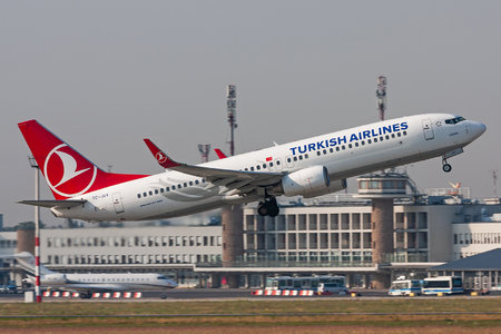 Boeing 737-800 - TC-JGV operated by Turkish Airlines