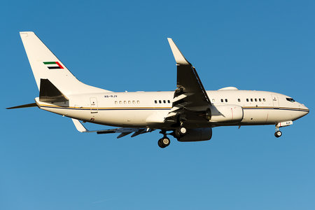 Boeing 737-700 BBJ - A6-RJV operated by Royal Jet